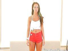 Casting Couch-X Athletic farm girl loves sex