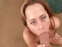 Payton Leigh wraps her lips around this thick cock