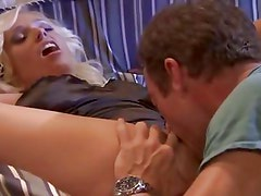 Angelina Ash has her pussy licked before she has her pussy rammed
