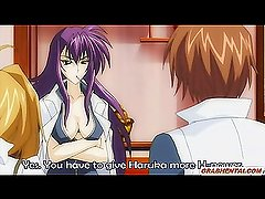 Japanese anime gets licked and fingered her w