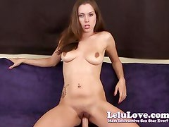 Lelu Love-Dildo Riding Virtual Creampie