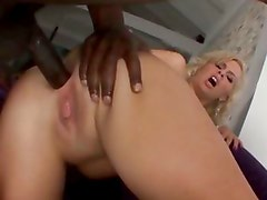 Tara Lynn loves to bend over and let black guys with huge cocks fill her ass