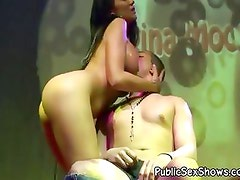 Hot nurse stripper goes wild and nasty