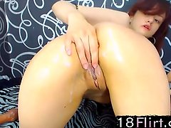 Teen Latina Lala fucks her tight ass 18flirt