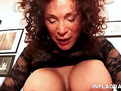 INFLAGRANTI Busty Freaky German Granny