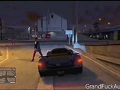 GTA V - Strip club dance and sex