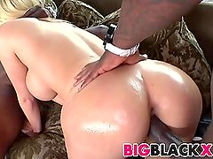 Big black cock threesome with Mariah Madysinn