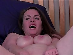 Big Sister Seduces Virgin Brother (Solo video simulated with dildo)