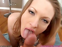 Mommy Blows Best Presents Vicky Vixen