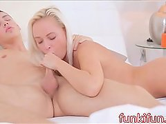 My Slutt Blonde Czech College Girlfriend FUCKS Her Step Brother Hard Than..