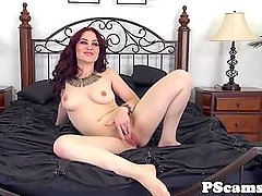 Jessica Ryans ass squirted with cum on webcam