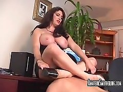 Taylor St. Claire smothering and dominating