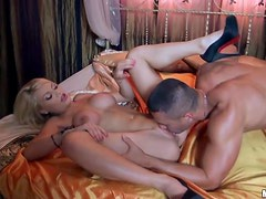 Hardcore Drilling With The Busty Blonde Babe Miky Gold