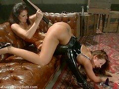 Bad Ass Brunettes Get Kinky
