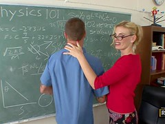 Anal Fucking The Hot Blonde Teacher Darryl Hanah