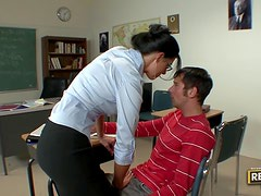 Horny Homeroom Teacher India Summer Rides A Hard Student