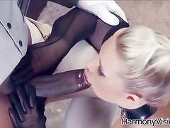 HarmonyVision Big tits blonde loves huge cocks