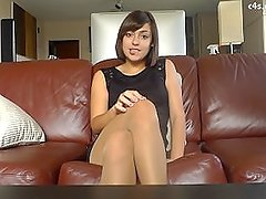 Anais Jolie-Clean my shoes smell my panthyhose