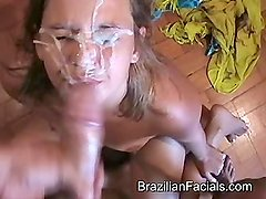 Brazilian Facials - Monster Cumshot