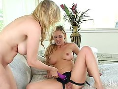 Julia Ann And Cherie Deville Strap On