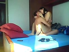 Arab couple romantic sex (girl is totally in love) - Hidden cam