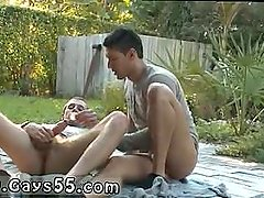 Gay porn men with black hair and light skin Streched Out with Joey Ray