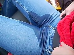 Car Jeans Wetting