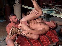RagingStallion Uncut Cock Gets Rightly Fucked