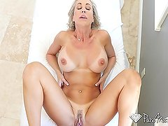 PureMature - Perfect 10 Milf Brandi Love fucked from behind