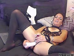 Hot horny italian mom Maria with tasty pussy