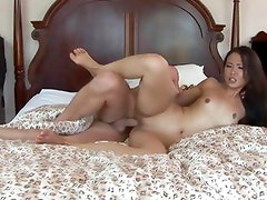 Nyomi Zen gets her hot pussy stuffed with hard cock