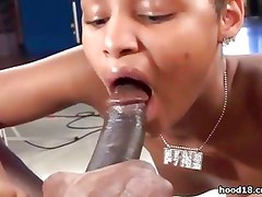 Black school girl getting fucked hard