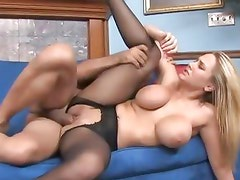Alanah Rae enjoys getting her hot pussy pulverized