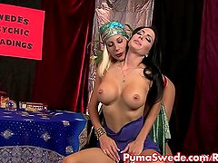 Hot Psychic Puma Swede Fucks Her Hot Client!