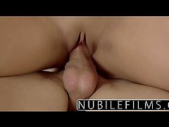 NubileFilms  Spanish beauty cums on hard cock