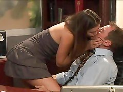 Allie Haze is banged by the principal
