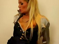 Clothed fetish glamour sluts fuck and facial