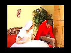 Redheaded Bride and Bestman