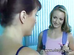 Concerned Mom Alexis Fire Teaches Her Young Cute Babysitter Jasmine Lynn How To Make Extra Cash By Fucking Her Husband