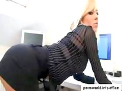 Hot Blonde Secretary Harmony Hex