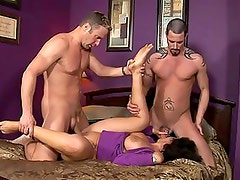 Milf vannah sterling gets fingercuffed inthree way fucking fun