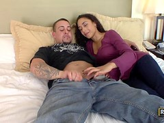 Horny Couple enjoy Heating things up