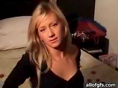 Blonde Hottie Gives A Blowjob On Her Vacation