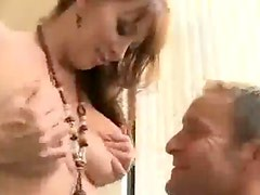 Blue eyes mature housewife cheating
