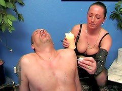 Mistress Loves Candle Burning