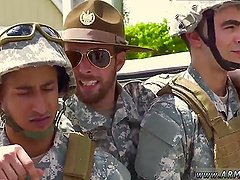 Hot military straight dudes cocks drained