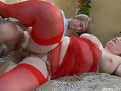 Russian mature Flo anal