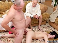 Old couple orgasm Frannkie heads down the