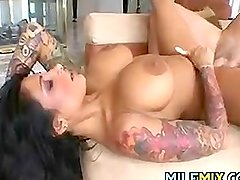 Tattooed Mother With Great Breasts