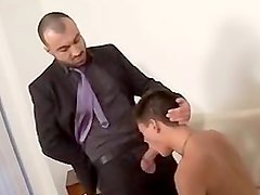 Dad fuck son's friend